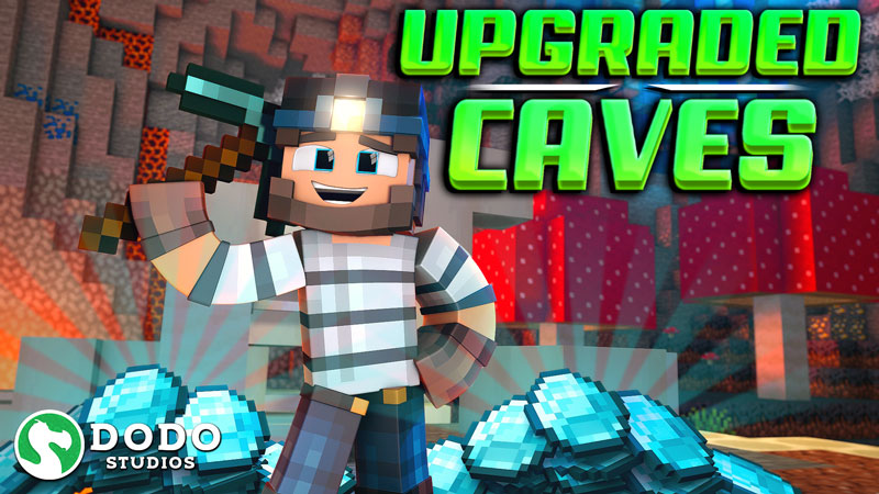 Upgraded Caves on the Minecraft Marketplace by Dodo Studios