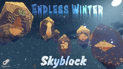 Endless Winter Skyblock on the Minecraft Marketplace by Appacado