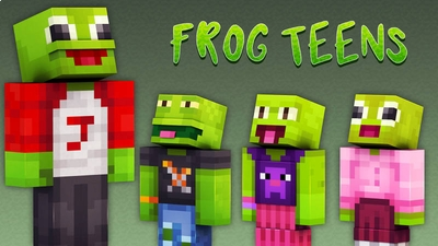 Frog Teens on the Minecraft Marketplace by 57Digital