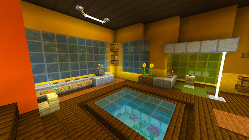 Ultimate Underwater Base In Minecraft Marketplace Minecraft