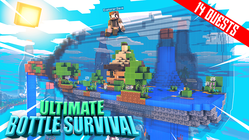 Ultimate Bottle Survival on the Minecraft Marketplace by Kubo Studios