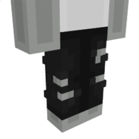 Ripped Black Pants on the Minecraft Marketplace by Dodo Studios