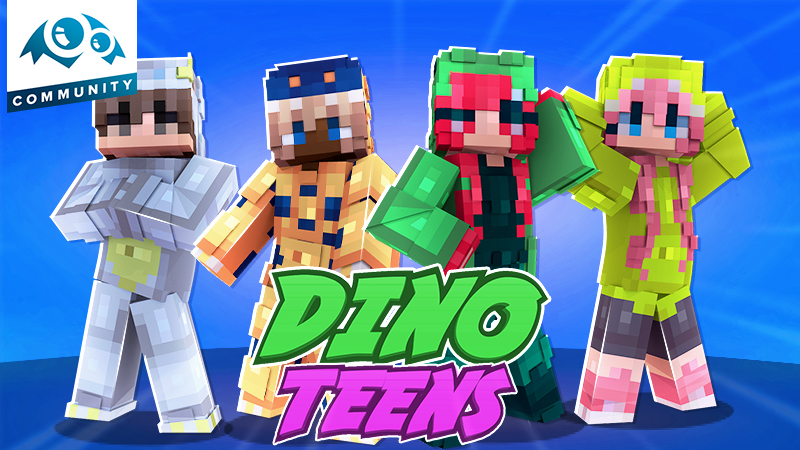 Dino Teens on the Minecraft Marketplace by Monster Egg Studios