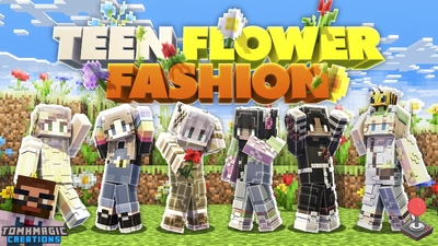 Teen Flower Fashion on the Minecraft Marketplace by Tomhmagic Creations