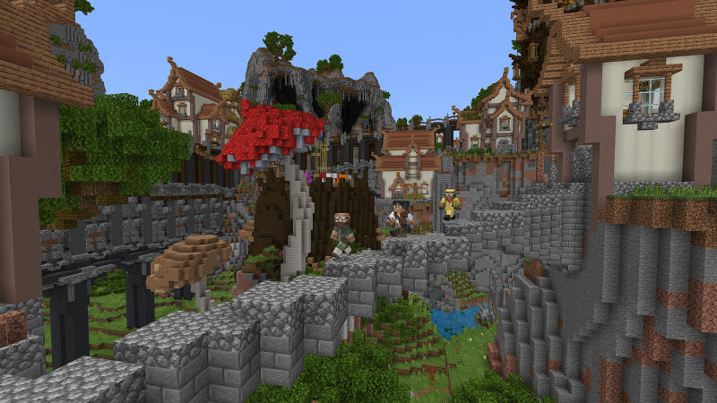 Hidden Falls on the Minecraft Marketplace by BLOCKLAB Studios