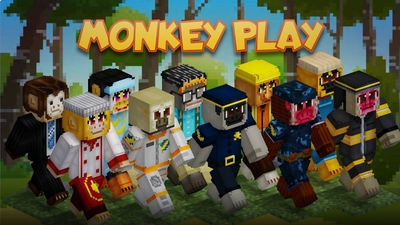 Monkey Play on the Minecraft Marketplace by BLOCKLAB Studios