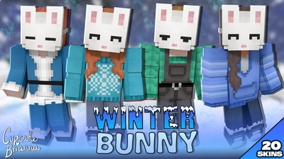 Winter Bunny HD Skin Pack on the Minecraft Marketplace by CupcakeBrianna