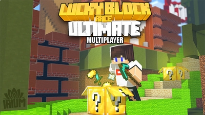 Ultimate Lucky Block Race on the Minecraft Marketplace by IriumBT