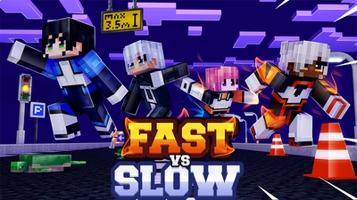 Fast vs Slow on the Minecraft Marketplace by Dark Lab Creations