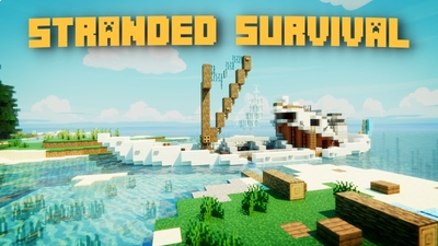 Stranded Survival on the Minecraft Marketplace by Fall Studios
