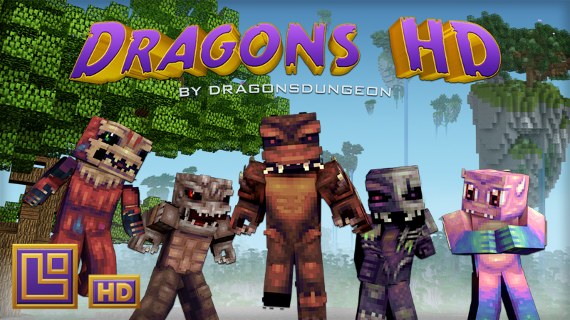 Dragons HD on the Minecraft Marketplace by Pixel Squared