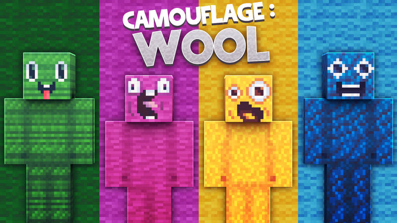 Play Camouflage: Wool