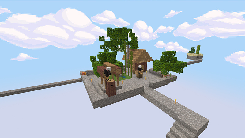 Advanced Skyblock Mash-up on the Minecraft Marketplace by Entity Builds