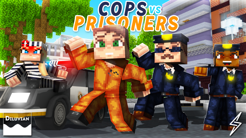 Cops vs Prisoners on the Minecraft Marketplace by Diluvian