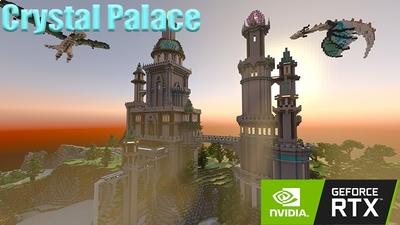 Crystal Palace RTX on the Minecraft Marketplace by Nvidia
