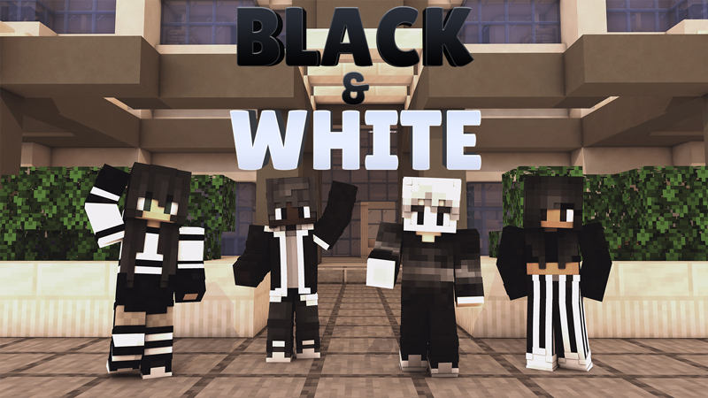 Black and White on the Minecraft Marketplace by Impulse