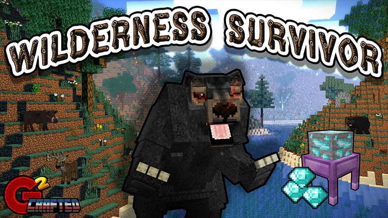 Wilderness Survivor on the Minecraft Marketplace by G2Crafted