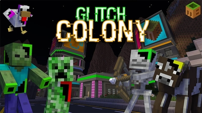 Glitch Colony on the Minecraft Marketplace by MobBlocks