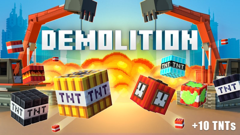 Demolition on the Minecraft Marketplace by Shapescape