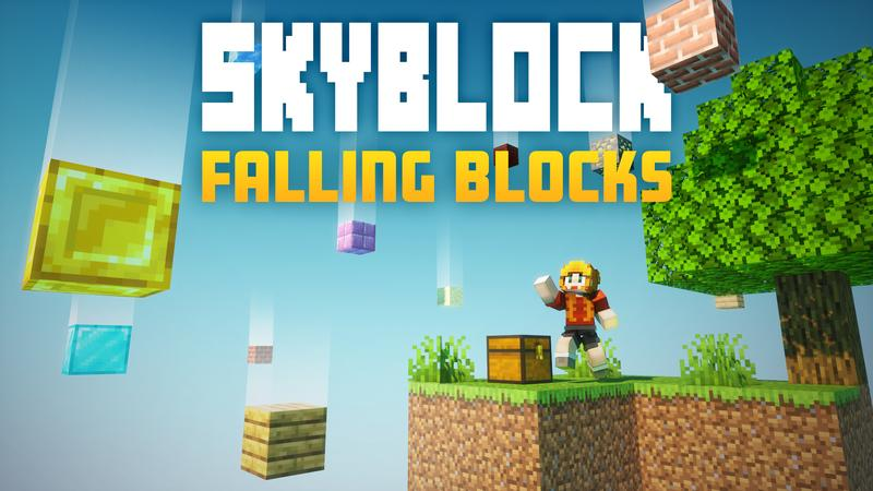 Skyblock Falling Blocks on the Minecraft Marketplace by Cubed Creations