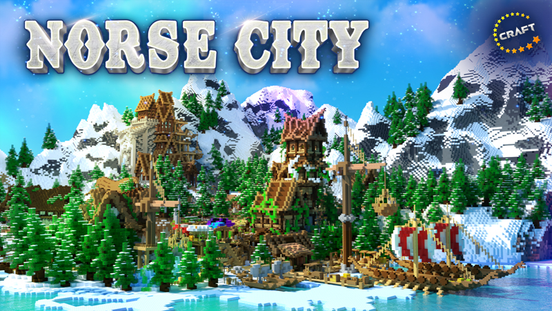 Norse City In Minecraft Marketplace Minecraft