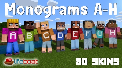 Monograms AH on the Minecraft Marketplace by Lifeboat