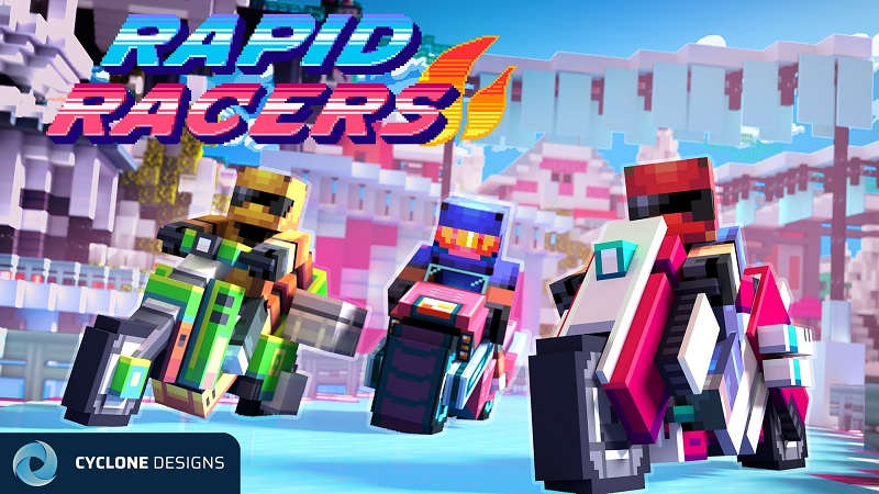 Rapid Racers on the Minecraft Marketplace by Cyclone