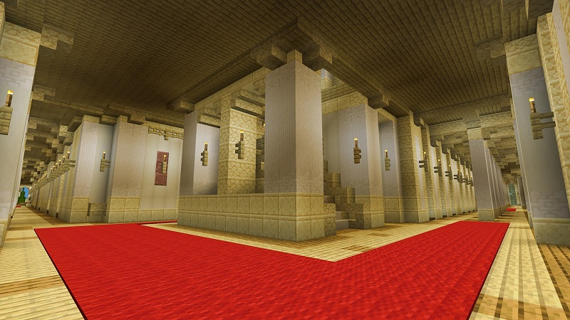 Royal Palace on the Minecraft Marketplace by Nitric Concepts