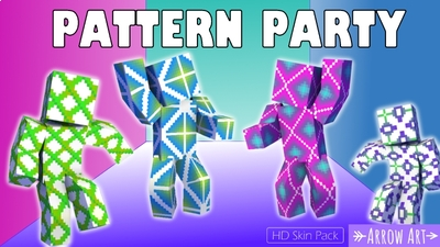 Pattern Party on the Minecraft Marketplace by Arrow Art Games