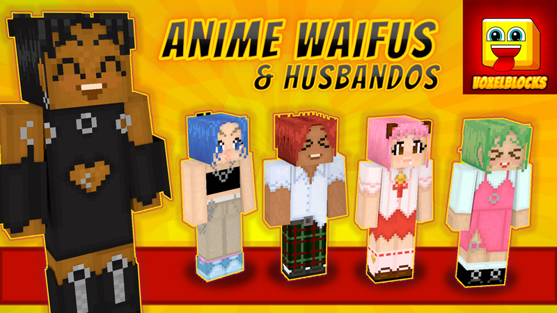 Anime Waifus  Husbandos on the Minecraft Marketplace by VoxelBlocks