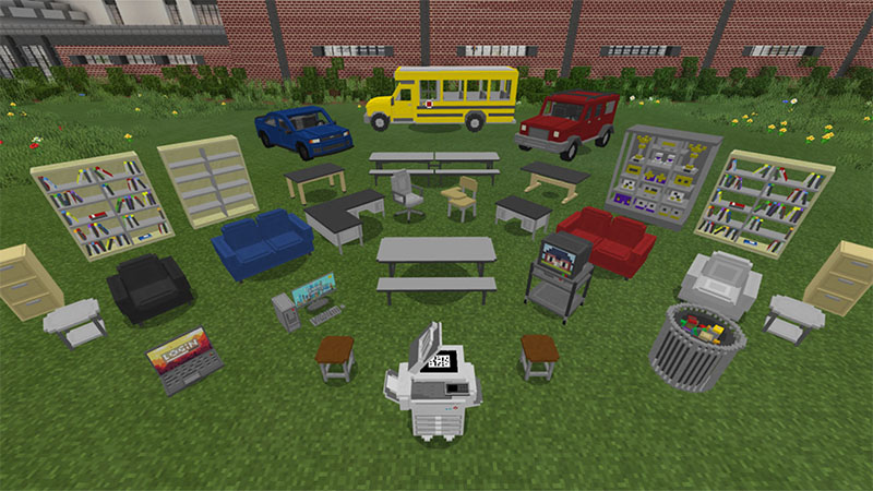 Middle School - Roleplay on the Minecraft Marketplace by Aurrora