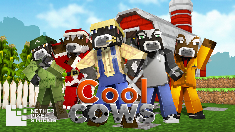 Cool Cows on the Minecraft Marketplace by Netherpixel
