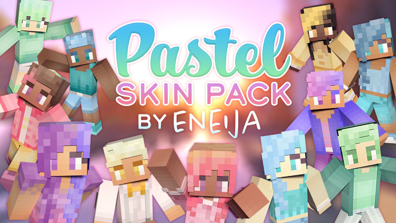 Pastel Skin Pack on the Minecraft Marketplace by Eneija