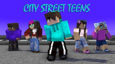 City Street Teens on the Minecraft Marketplace by Arrow Art Games