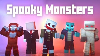 Spooky Monsters on the Minecraft Marketplace by Cubed Creations