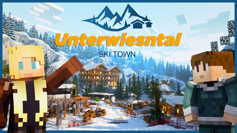 Unterwiesntal  Ski Town on the Minecraft Marketplace by Norvale