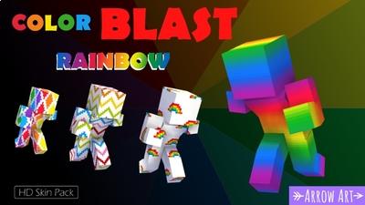 Color Blast Rainbow on the Minecraft Marketplace by Arrow Art Games