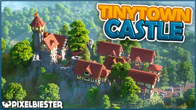 Tinytown Castle on the Minecraft Marketplace by Pixelbiester