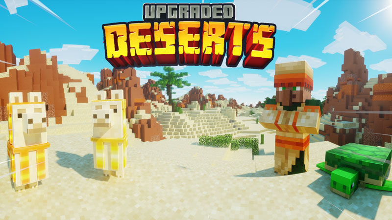 Upgraded Deserts on the Minecraft Marketplace by Chunklabs