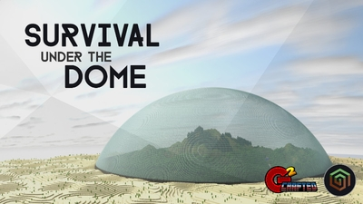 Survival under the Dome on the Minecraft Marketplace by G2Crafted