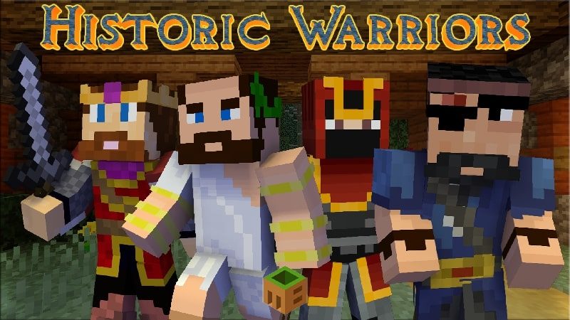 Historic Warriors on the Minecraft Marketplace by MobBlocks