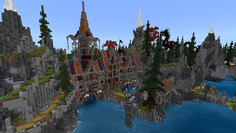 Redwood Isles on the Minecraft Marketplace by Blockception