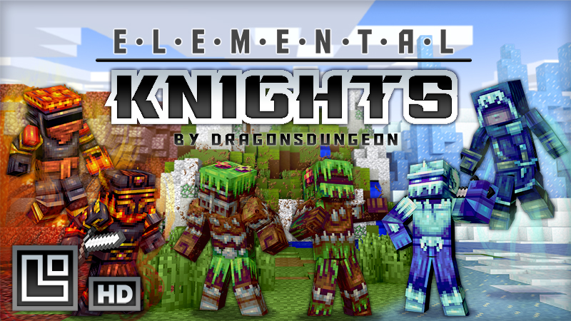 Elemental Knights HD on the Minecraft Marketplace by Pixel Squared