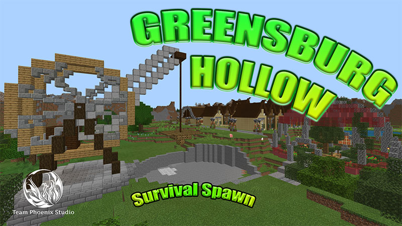 Greensburg Hollow on the Minecraft Marketplace by Team Phoenix Studio