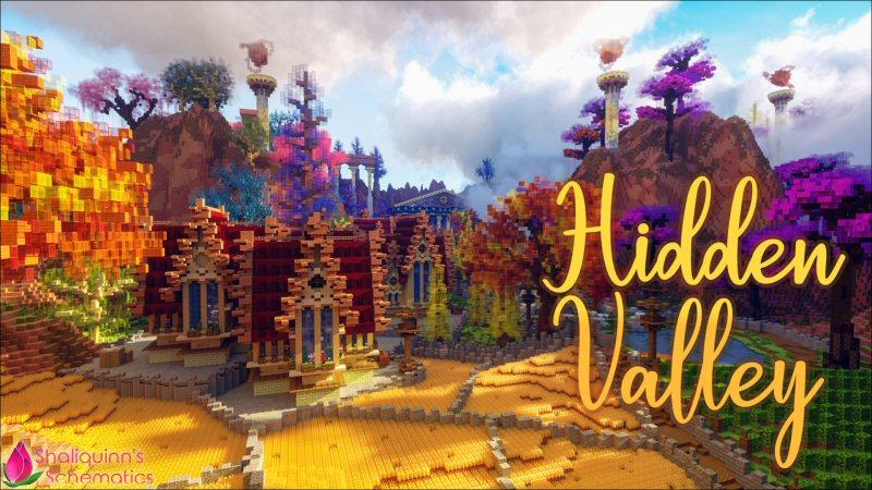 Hidden Valley on the Minecraft Marketplace by Shaliquinn's Schematics