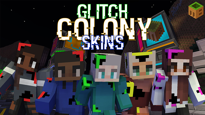 Glitch Colony Skins on the Minecraft Marketplace by MobBlocks