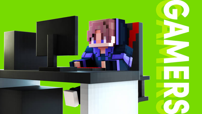 Gamers on the Minecraft Marketplace by BLOCKLAB Studios