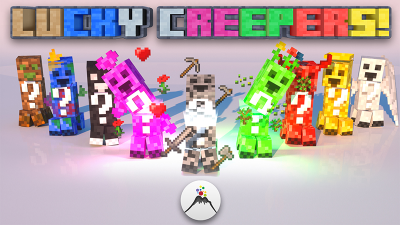 Lucky Creepers on the Minecraft Marketplace by Volcano