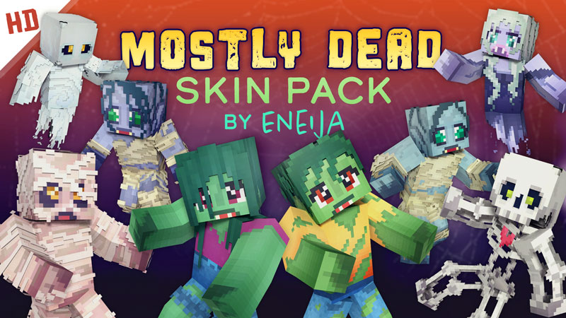 Mostly Dead HD Skin Pack on the Minecraft Marketplace by Eneija