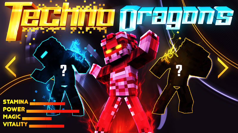 Techno Dragons on the Minecraft Marketplace by BBB Studios